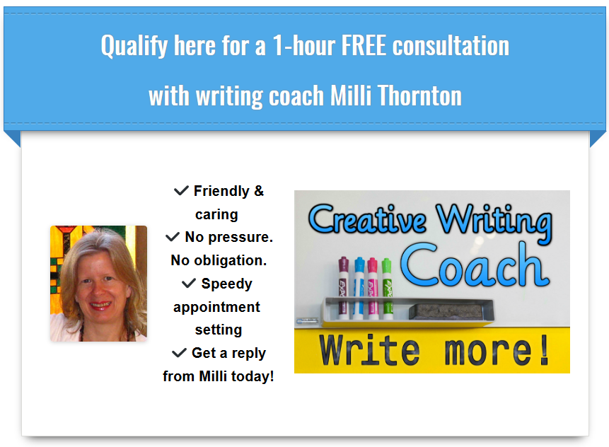 Writer's Muse Coaching free consultation